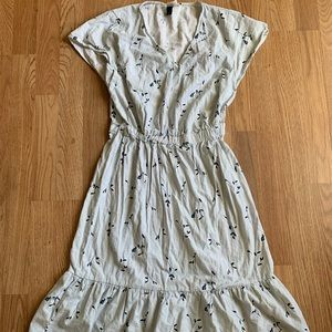 Target Dresses - Universal Thread Prairie Floral Midi Dress